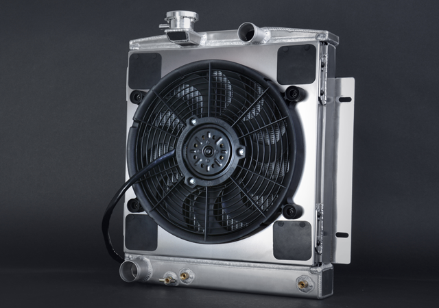 Shrouded Powerpack Electric Fans